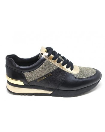 MICHAEL DI MICHAEL KORS -  Sneakers ALLIE  - Black/Gold