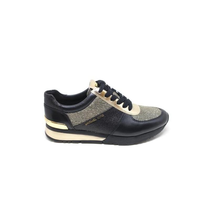 MICHAEL DI MICHAEL KORS -  Sneakers ALLIE  - Nero/Oro