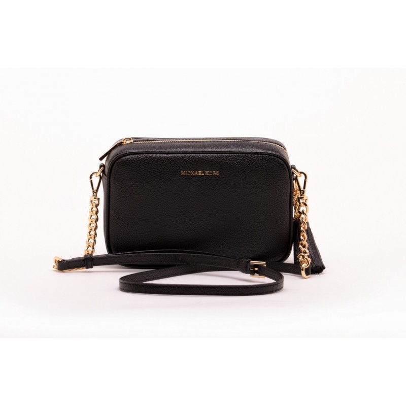 MICHAEL BY MICHAEL KORS - Ginny leather bag - Black