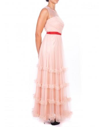 PINKO -SEZIONI dress in Tulle - Pink