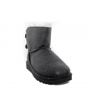 UGG - Stivale Mini Bailey Bow SPARKLE - Sparkle Black