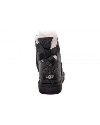 UGG - Stivale Mini Bailey Bow SPARKLE - Sparkle Black