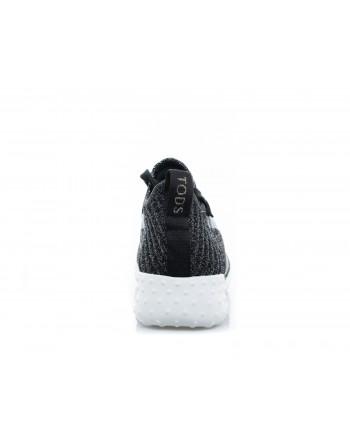 TOD'S - Sneaker in lurex - Black