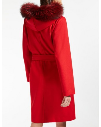 MAX MARA STUDIO - MANGO Coat - Red