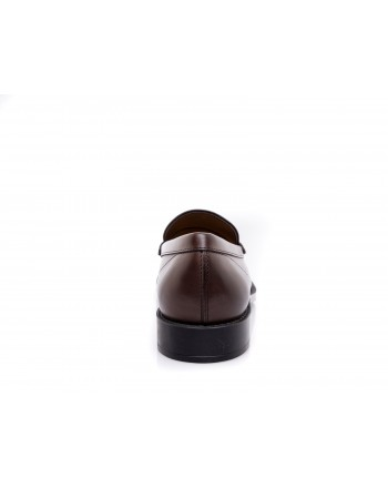 TOD'S - Leather Moccasin - Dark Brown