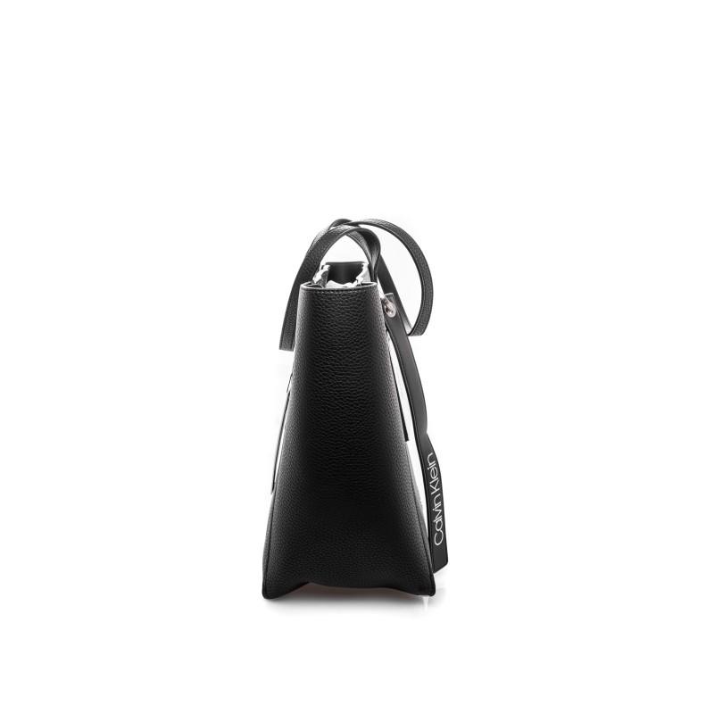 CALVIN KLEIN - Shopping Bag FRAME LARGE - Black