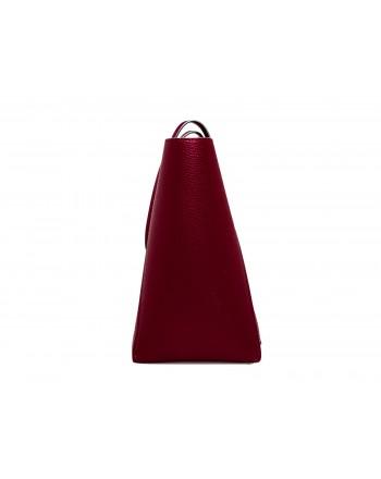 CALVIN KLEIN - Borsa Shopping FRAME LARGE - Red Rock