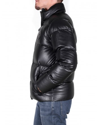 VERSACE COLLECTION - Quilted Down jacket - Black