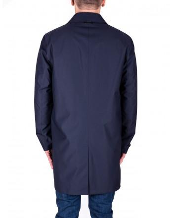 ERMENEGILDO ZEGNA - Trench Coat - Blue