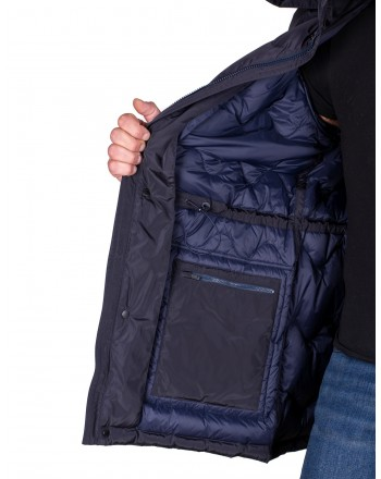 ERMENEGILDO ZEGNA - Down jacket - Blue