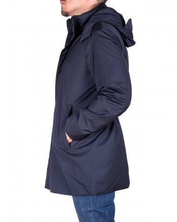 EMPORIO ARMANI - Down jacket - Blue