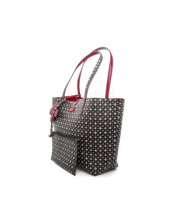 POLO RALPH LAUREN - TOTE double-face Bag - Red