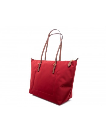 POLO RALPH LAUREN - Borsa Shopping Tote Oxford - Rosso