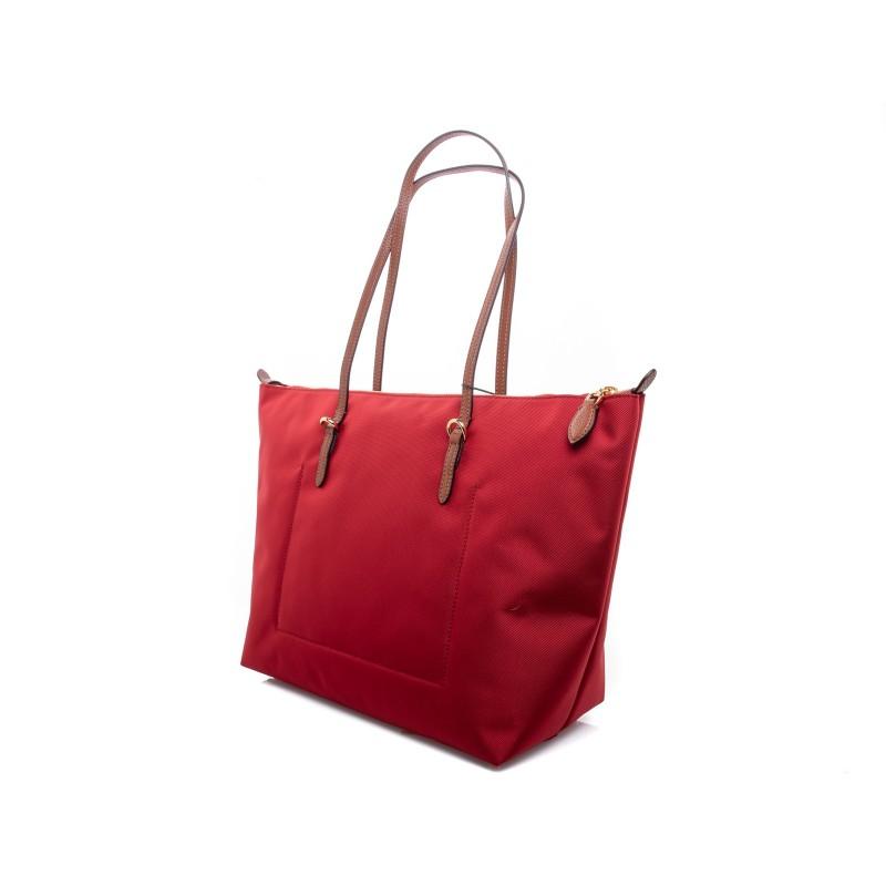 POLO RALPH LAUREN - Borsa Shopping Tote Oxford - Rosso