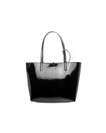 POLO RALPH LAUREN -  TOTE double-face Bag - Black