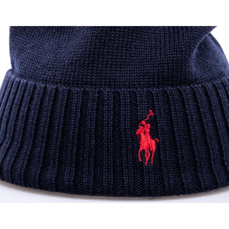 POLO RALPH LAUREN - Wool hat - Hunter Navy