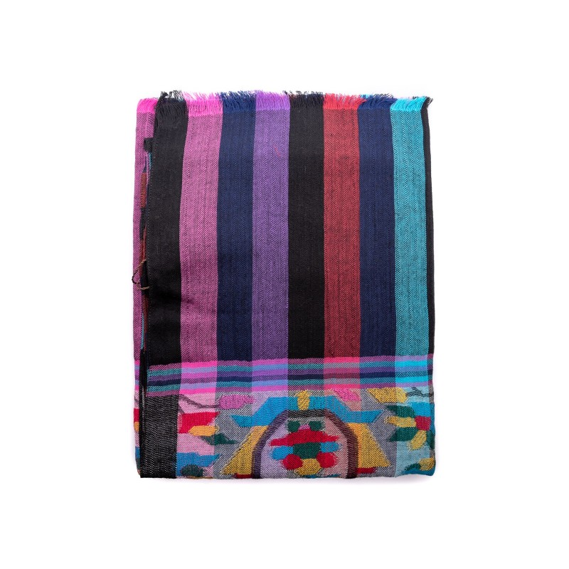 ETRO - Mixed silk scarf - Multicolor