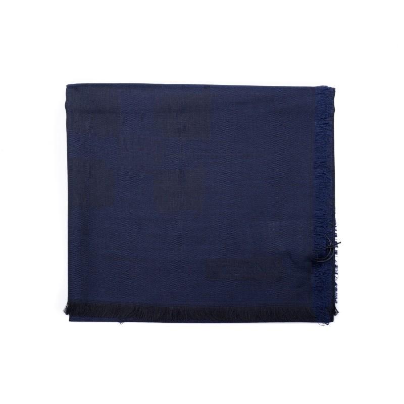 ERMENEGILDO ZEGNA - Sciarpa in Seta - Blu