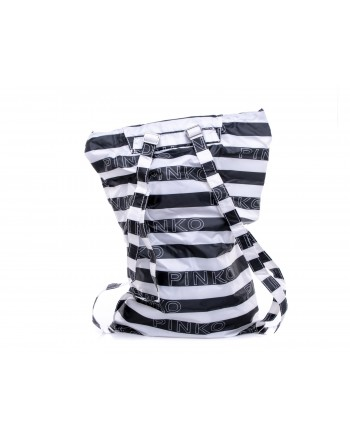 PINKO -  IN LOVE Backpack - White/Black/Red