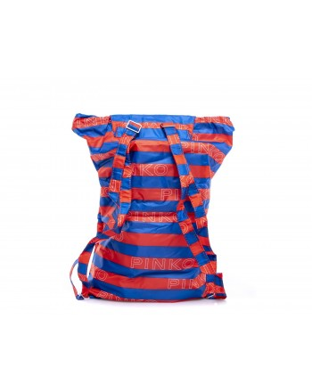 PINKO -  IN LOVE Backpack - Blue/White/Red