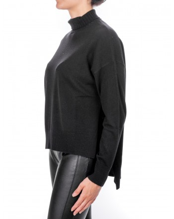 PINKO - CALAPOGON Cashmere sweater - Black