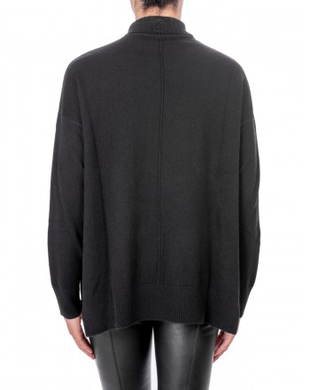 PINKO - CALAPOGON Cashmere sweater - Black