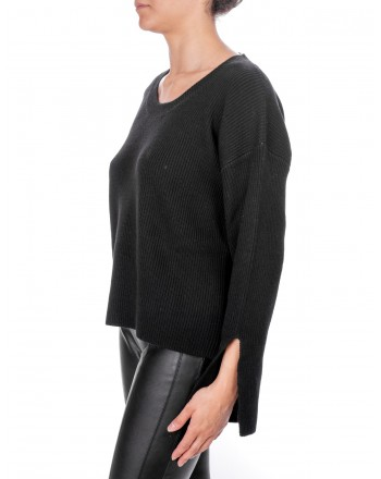 PINKO - Cashmere Calceolaria Sweater - Black