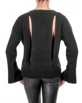 PINKO - Cashmere Calceolaria Sweater - Black