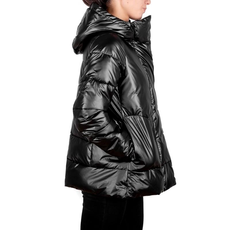 INVICTA - Trapezoid Styled Jacket with Hood - Black