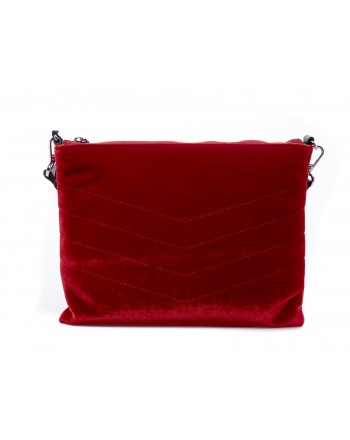 PINKO - Velvet LASIEN Bag - Red