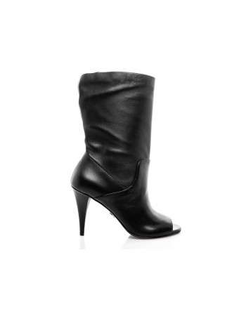 MICHAEL di MICHAEL KORS -  ELAINE boots leather - black