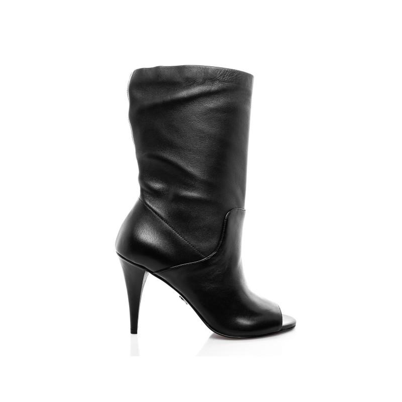 MICHAEL di MICHAEL KORS - Stivali ELAINE in pelle - Nero
