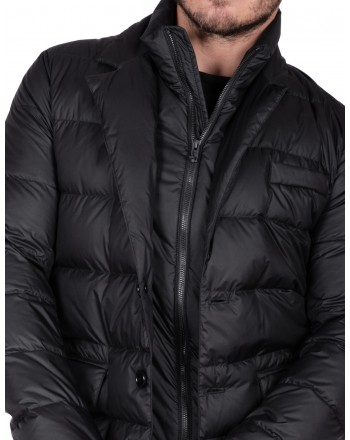 FAY - Light Double Front down jacket - Nero
