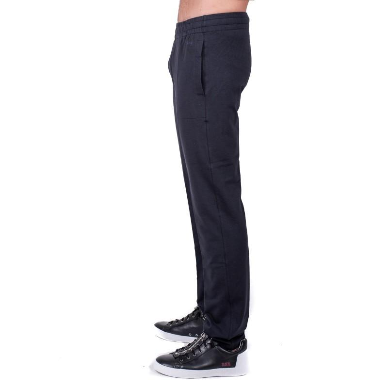 ERMENEGILDO ZEGNA - Pantalone in Felpa a due Tasche - Blu