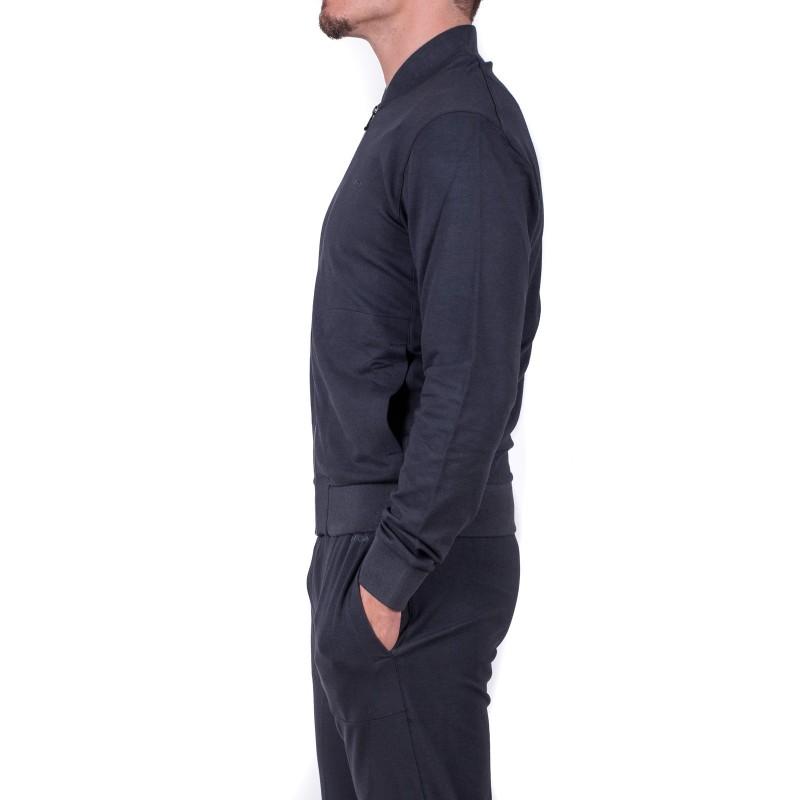 ERMENEGILDO ZEGNA - Cotton and Modal Zipper Sweatshirt - Blue