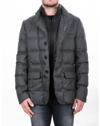 FAY - Padded jacket in technical fabric - Graphite