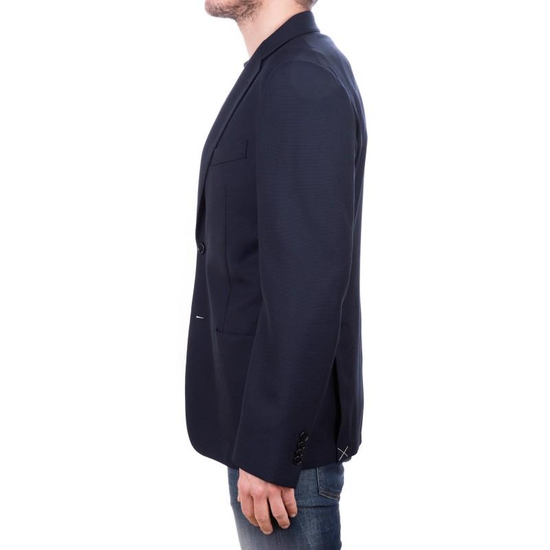 FAY - Giacca in lana - Blu