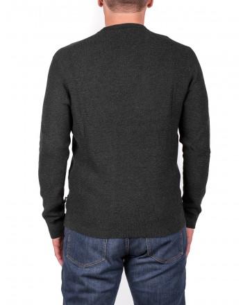 MICHAEL di MICHAEL KORS - Cotton and Merino wool jersey - Ash Melange Moulinex
