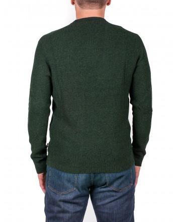 MICHAEL di MICHAEL KORS - Cotton and Merino wool jersey - Green Moulinex