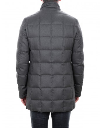 FAY - Padded coat in technical fabric - Graphite