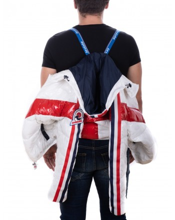 INVICTA - Dawn jacket with hoodie - Bianco