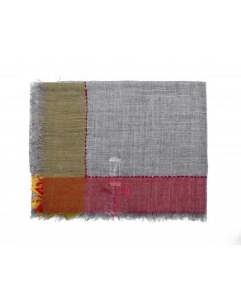 CAMERUCCI - Stola LARICE in lana - Grigio