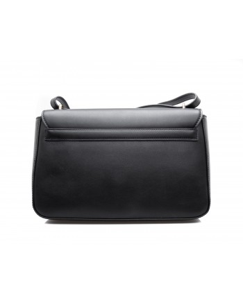 LOVE MOSCHINO - Ecoleather Bag with Patches - Black