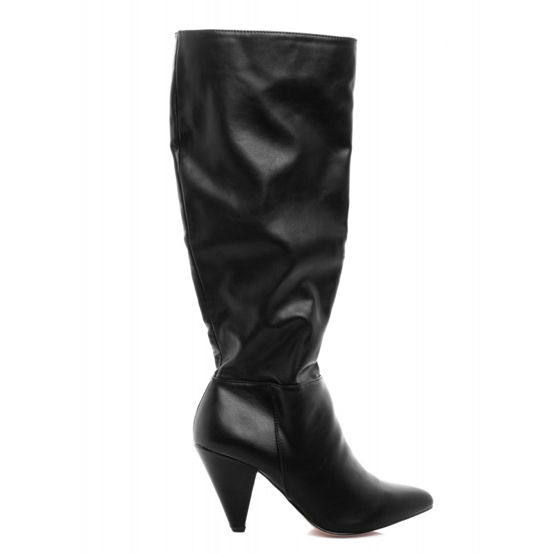 MADDEN GIRL - Leather CANDY Boot - Black