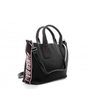 PINKO -  Canvas Shopping Bag  COLIMA - Black