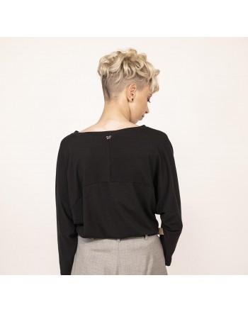 WEEK END MAX MARA - T-Shirt con manica ampia - Nero