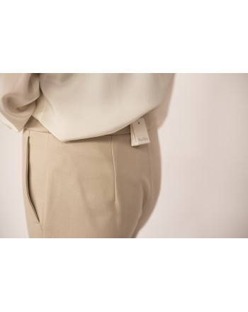 MAX MARA - Jersey Trousers PEGNO - Rope Beige