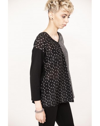 WEEK END MAX MARA - T-Shirt SPOLETO manica 3/4 - Nero
