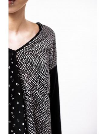 WEEK END MAX MARA - SPOLETO  T-Shirt sleeve 3/4  - Black