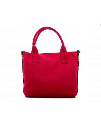 PINKO - Shopping in Canvas CRESTOSO - Rosso